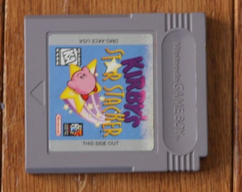 Kirby's Star Stacker (Nintendo Game Boy, 1997) Authentic Game - Tested gameboy