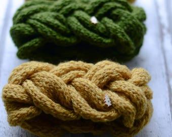 Knitted headbands / acryl  /