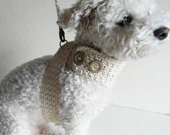 Pet Harness with Matching leash, Friendly DOG harness,  Pet Harness - Small dog Adjustable harness