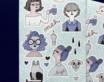 MOOD Stickers
