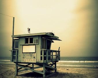 Santa Monica / Venice beach / Los Angeles / California - digital photography, matte finish with mat