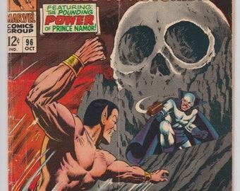 Tales to Astonish #92 Silver Age 1967 Marvel Comic Book Prince Namor Sub-Mariner and The Incredible Hulk Skull Island 1960s Comics 12 Cents