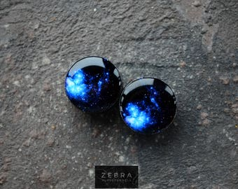 """Pair Gauges Space image ear wooden plugs 4,5,6,8,10,12,14,16,18,20,22-60mm;6g,4g,2g,0g,00g;1/4,5/16,3/8,1/2,9/16,5/8,3/4,7/8,1 1/4,1 9/16"""""""