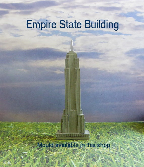 Empire State Building Silicone Mold