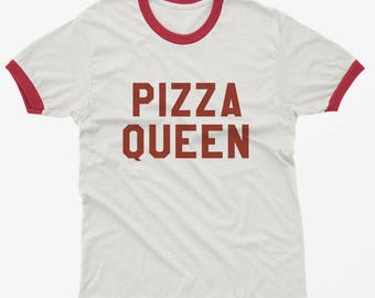 Pizza shirt graphic tshirt tumblr instagram ringer tee shirt for teen teenager gift for best friend women tshirts
