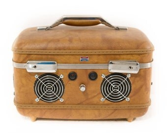 Train Case 2 - 150 Watt Suitcase Boombox
