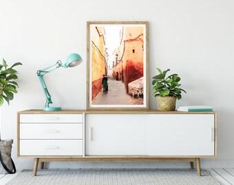 Photographie Fine Art - Ruelle de Marrakech - Maroc