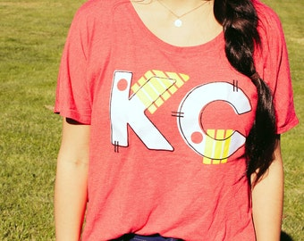 Kansas City Chiefs | Red Short Sleeved Shirt