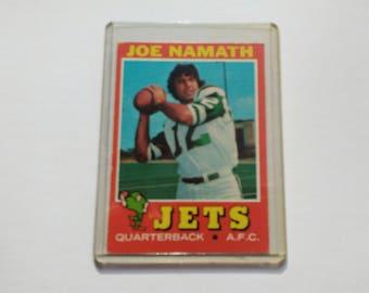 Joe Namath ~ Topps Trading Card! Authentic Vintage 1971! Joe Namath ~ NY Jets Quaterback Card # 250!  Original 1971 Card!!