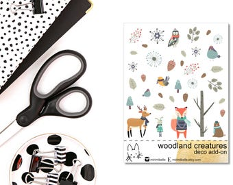 Woodland - ADD-ON Deco Sticker!