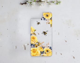 Yellow Flowers Backplate for iPhone 8 Case iPhone 8 Plus Case iPhone 7 Case iPhone 7 Plus Case iPhone iPhone 6 Plus Case Bumper Case WC1801