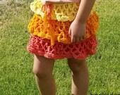 Girl's Skirt Crochet ...