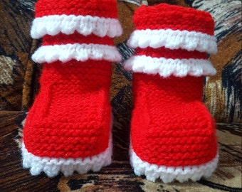 Baby booties, baby shoes, baby accessories, baby gift, children knits, handmade knits, crocheted booties, warm, soft, winter, baby slippers