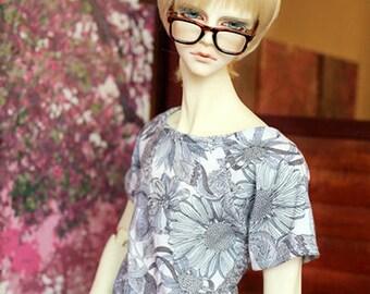 Flower Lineart T-Shirt | SD | Bjd Clothing
