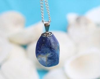 Lapıslazuli Stone Pendant , Lapıslazuli , Lapıslazuli  Beads,Naturel Stone, Gemstone, SKU/MRY