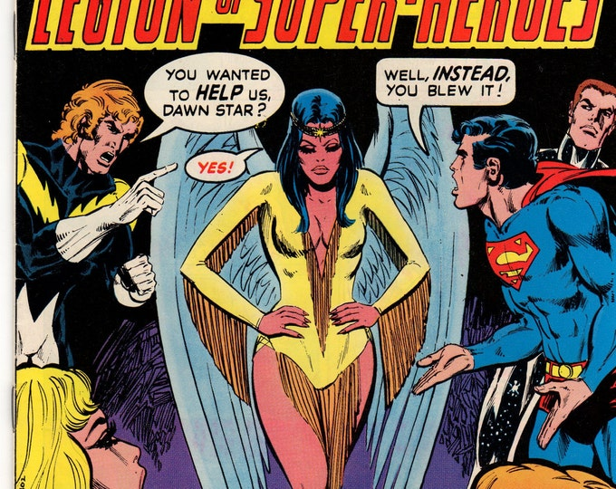 Superboy Comic Book #226 DC Comics 1977 F-VF Dawn Star