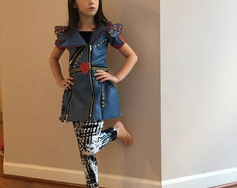 Descendants Evie Halloween Costume for Girls and Adults