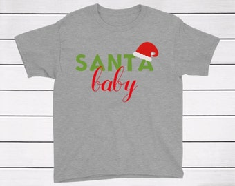 Christmas Shirt / Santa Baby Shirt / Christmas Clothes  / Christmas Baby Clothes / Baby Onesie / Baby Clothes /