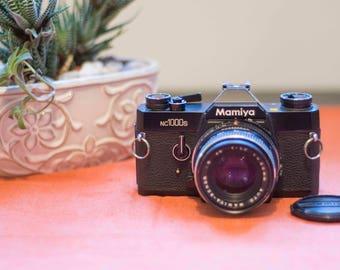 MAMIYA nc1000s • Vintage Compact 35mm SLR