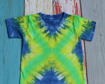 X That Out! - Tie Dye Toddler T-Shirt - Size 2T - 3T