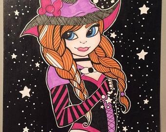Anna Witch ORIGINAL Drawing