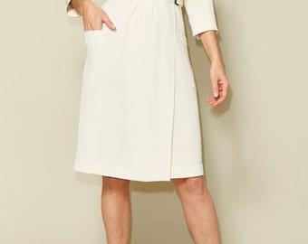 NEW Linda wrap dress sewing pattern size 34-46 - Just Patterns #2102