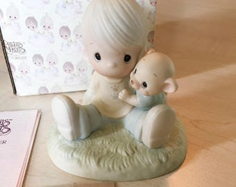 Vintage Precious Moments To My Favorite Paw Figurine 100021
