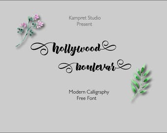 3 digital fonts for 3 dollar - Handwritten and watercolor font download. Calligraphy font. Get these downloadable fonts