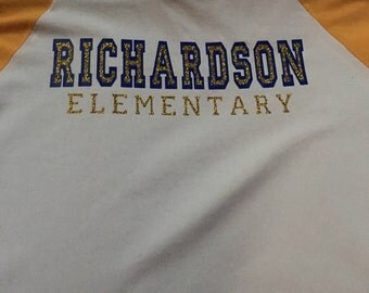 Raglan School Spirit Shirt