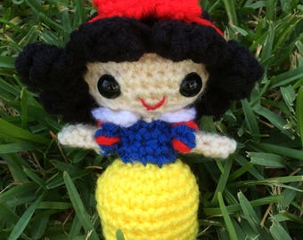 Disney Princess Snow White - Crochet Amigurumi Doll