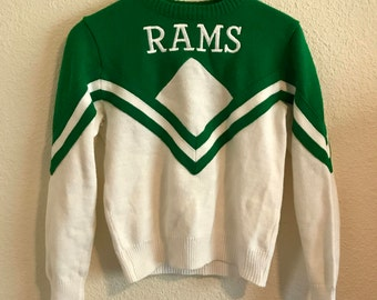 Vintage Colorado State University Cheerleader Sweater