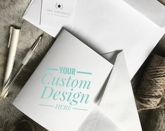 Handmade Watercolor Cards - Custom Greeting/Occasion Cards