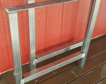 Custom Steel Table Legs  Metal Table Legs  Industrial Style Table Legs  H