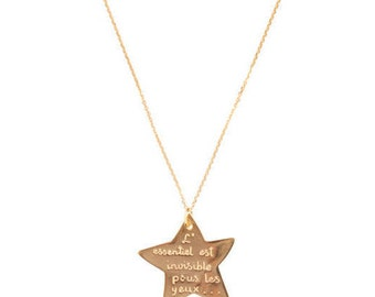 Necklace star Prince