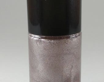 Chocolate Mousse Nail Polish indie brown holographic glitter