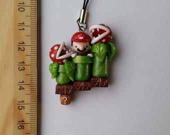 Supermario Polymer Clay Charm