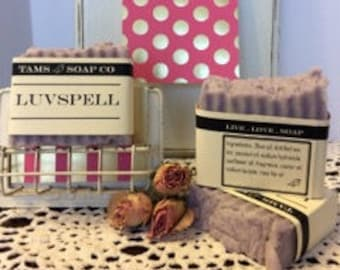 Luvspell Type Handcrafted Soap