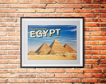 Classroom Decorations - A3 Printable Classroom Poster - Visit Egypt