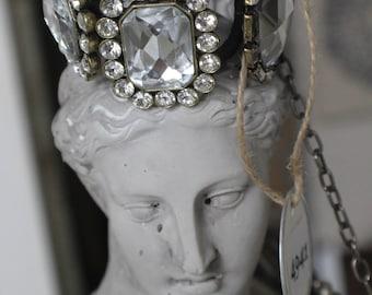 Handmade Collectable  Vintage Broach Bracelet