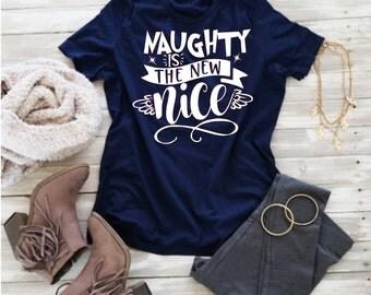 Naughty is the New Nice, Nice, Naughty, Christmas Svg,Dxf,Png,Jpeg