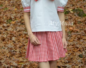 Cute Japanese Anime School Girl Uniform Seifuku