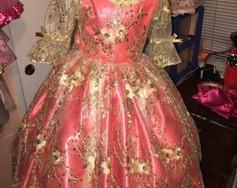 Birthday Princess dress/ 3rd Birthday dress/ Presentation dress/Birthday dress