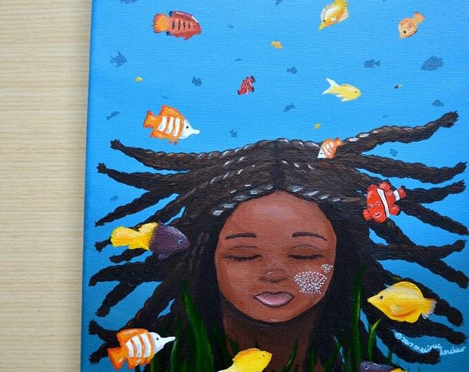 Anansa • 8x10 Original Painting