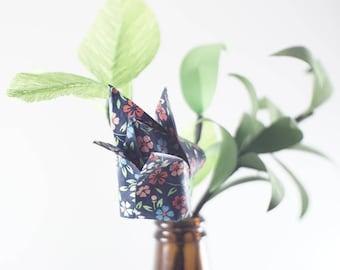 Origami tulip floral arrangement