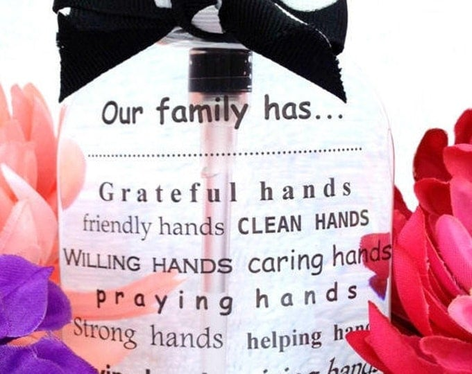 Hand Soap Dispenser ~ Unique Gifts for Neighbors, Friends, and Family