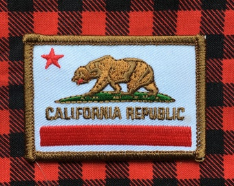 Republic of California Patch