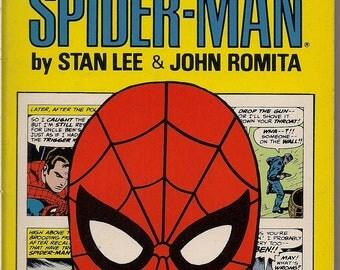 Amazing SPIDER-MAN 2,1980,Stan Lee,John Romita,Marvel Comics,Full Color,Newspaper Comic Strips,Pocket Books, Kingpin,Rattler,Mary Jane