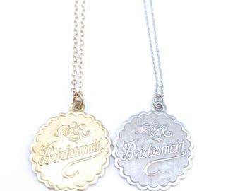 Bridesmaid Charm Necklace