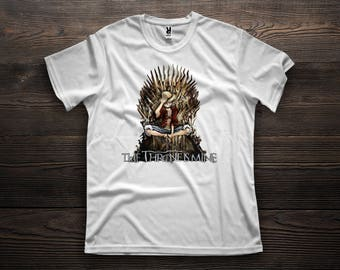 T-Shirt - Luffy in the Iron Throne