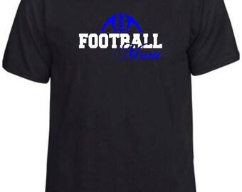 Football Mom #2   Football   Women's T-Shirt
